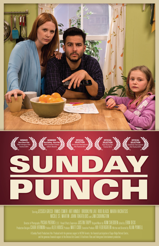 Sunday Punch Poster